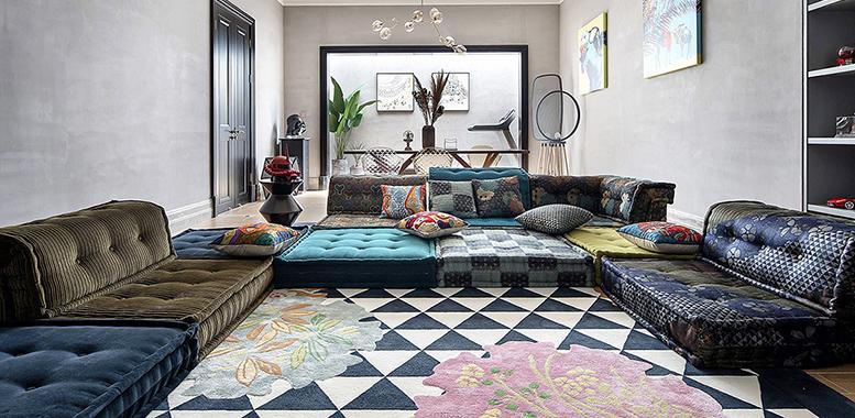 杭州别墅装修中的家居装饰色彩搭配技巧来啦!