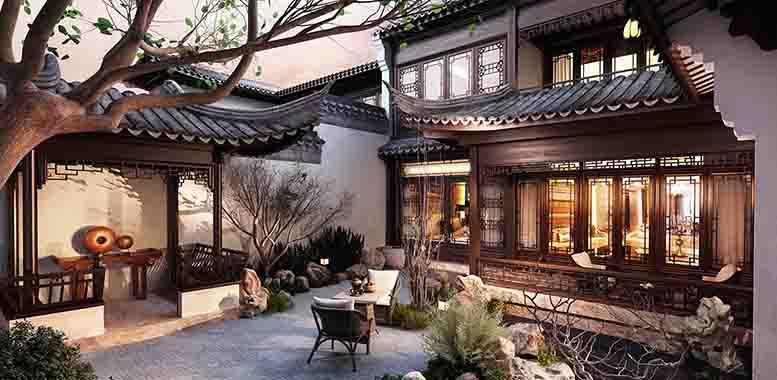 为什么要进行独栋别墅庭院设计?杭州别墅装修