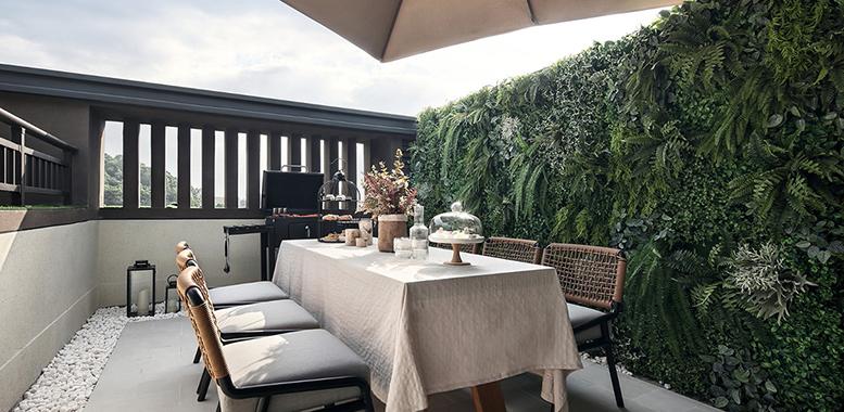 杭州别墅装修中的最美阳台设计,尽在金邸装饰