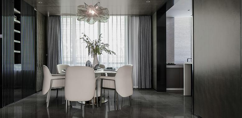 年夜饭你想在哪儿吃?杭州别墅装修餐厅设计