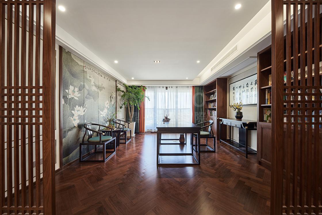 新中式风格杭州别墅装修有何魅力,让人如此着迷?