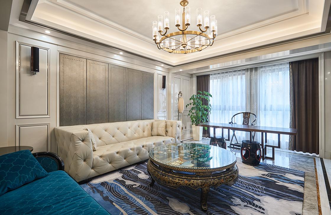 选对窗帘的家,美得很高级 | 杭州别墅装修设计