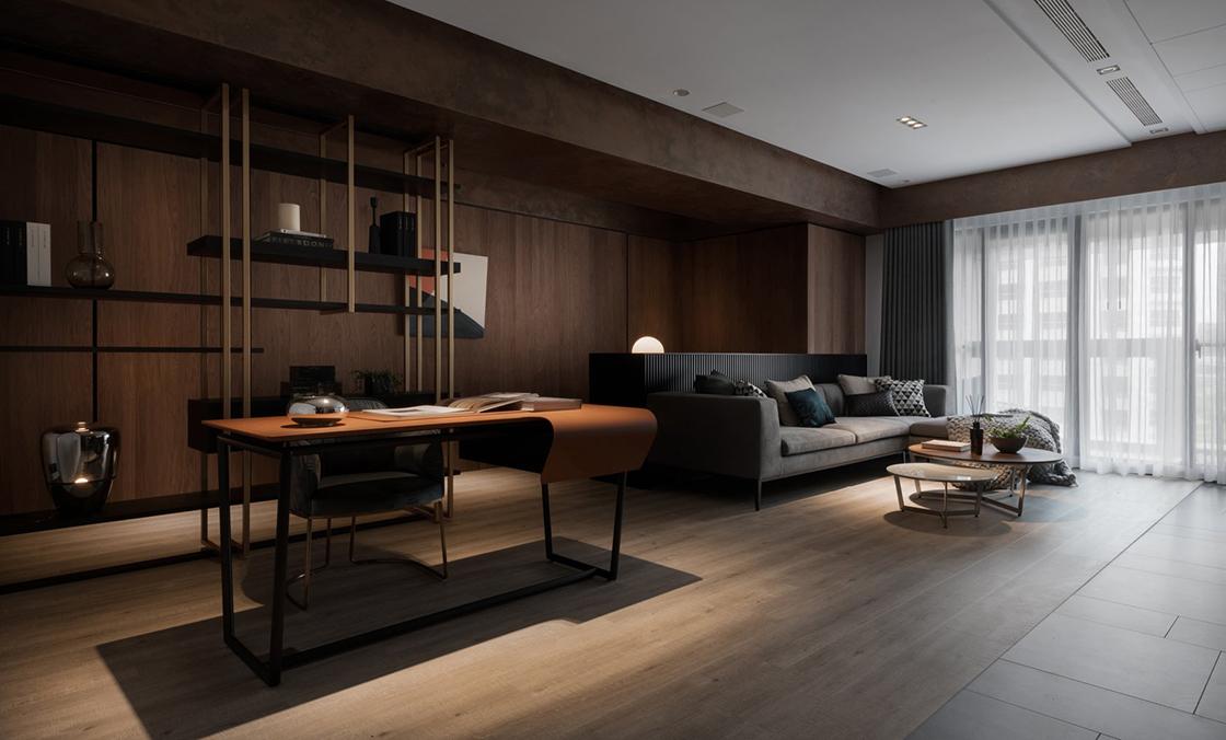 优雅的现代风格杭州别墅装修设计,让家更有品位!