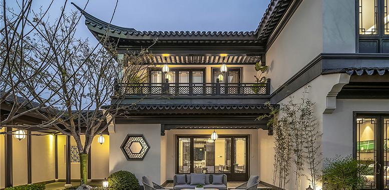 新中式风格,打造你怀念的杭州别墅装修设计
