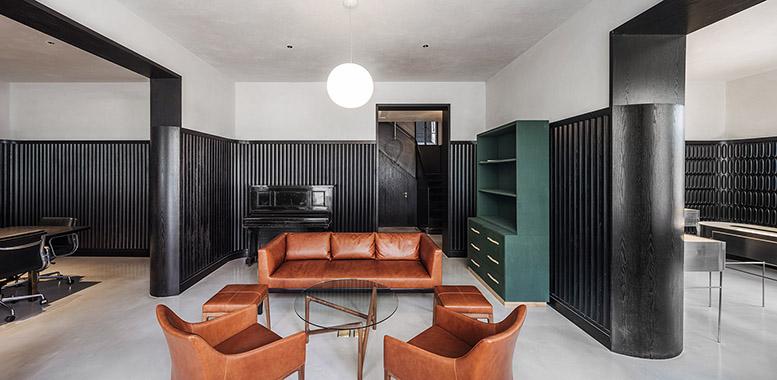 别墅软装设计中的椅子设计,体现舒适家居生活