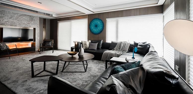优雅静谧的高级灰,让你拥有最美的别墅家居空间!