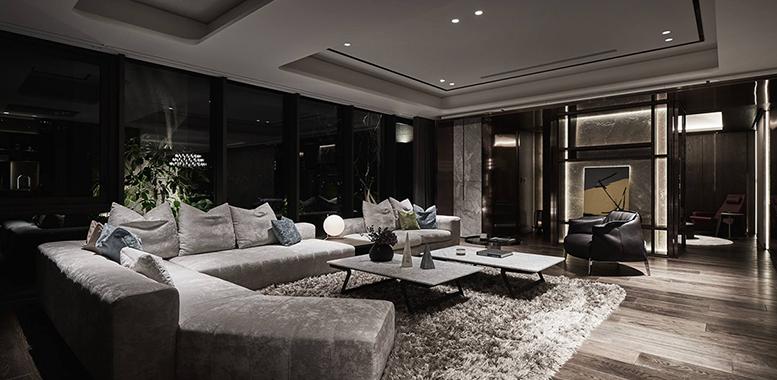 高级的无主灯设计,是否适合你的家?杭州别墅装修