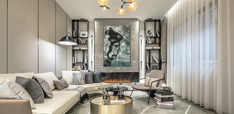 在杭州别墅装修中,客厅灯具应该如何选择?