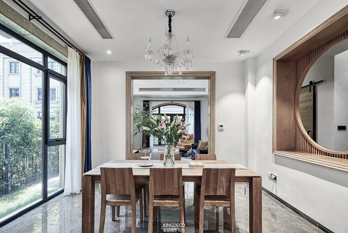 杭州别墅装修中,关于餐厅设计和美好生活的联系