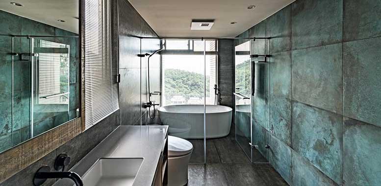 瓷砖的使用性能及其在空间里的运用,杭州别墅装修