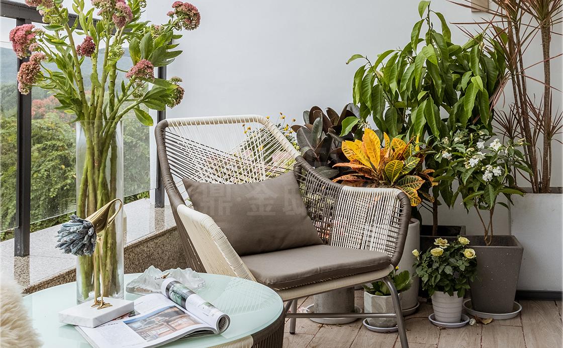 享受美好家居生活,从别墅阳台设计开始!