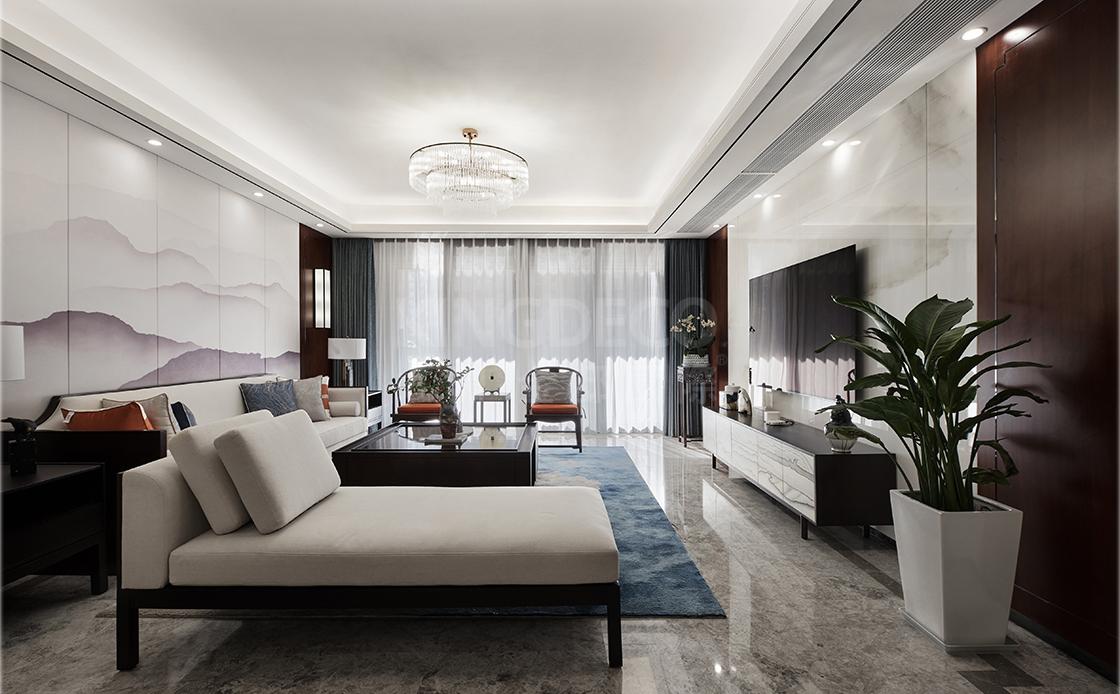 新中式风格在现代化别墅空间设计中的精彩表现!