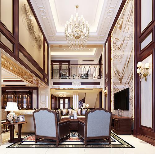 和合财富别墅装修案例
